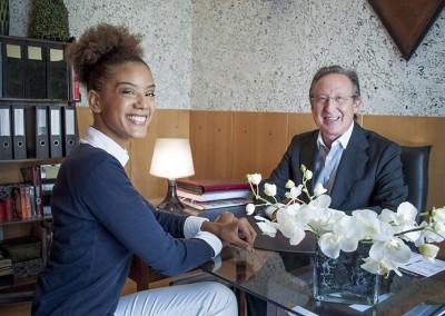 Armanda Neves e dr. Biscaia Fraga