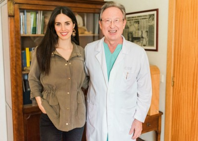 Catarina Gouveia e Dr. Biscaia Fraga