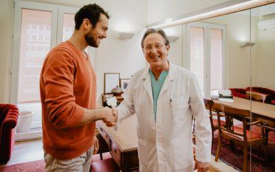 Adriano Toloza faz tratamento inovador para travar queda de cabelo